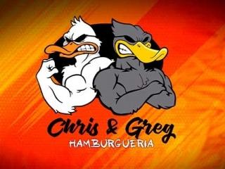 Chris e Greg Hamburgueria
