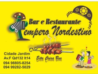 Bar e Restaurante - Tempero Nordestino