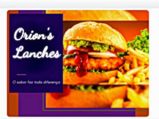 Orion´s Lanches
